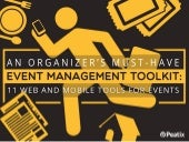Event Hacks: An organizer's must have event management toolkit
