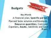 Event Management Budgets