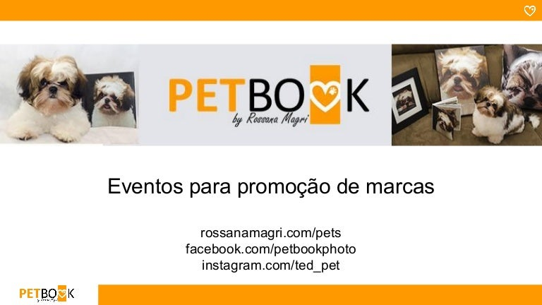 evento pet book apresentação