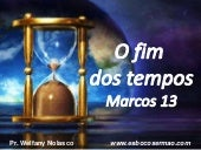 Eventos apocalípticos segundo o sermão de Jesus