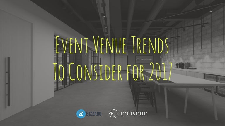 Event Venue Design Trends