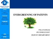 Evergreening of patents