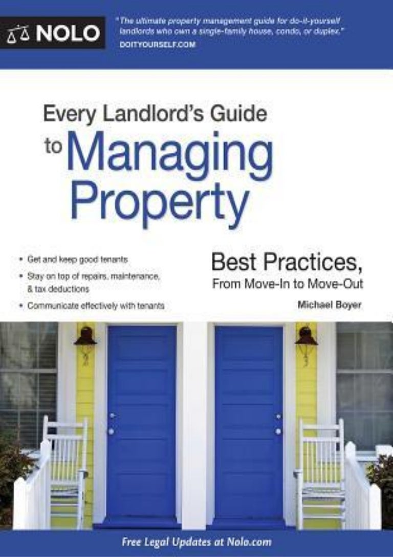 Best Practices From Move-In to Move-Out Every Landlords Guide to Managing Property