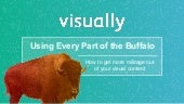 Using Every Part of the Buffalo Webinar: How to Get More Mileage Out of Your Visual Content