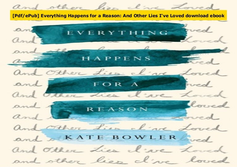 it happens for a reason pdf free download