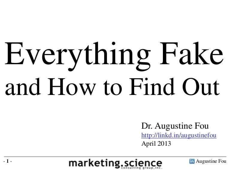 Everything Fake Click Fraud Fake Pages Botnets Ad Waste