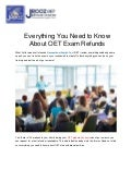 Everything You Need to Know About OET Exam Refunds