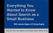 Everything You Wanted to Know About Search as a Small Business