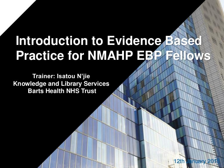 essay about evidence based practice 5 pages 1337 words evidence-based nursing practice: a qualitative approach nursing in today's world requires more than just caring for the ill and maintaining wellness of the public nurses are expected to deliver the highest possible quality of care while being mindful of costs.