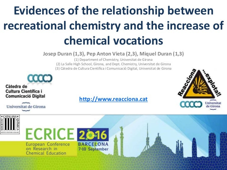 Evidences Of The Relationship Between Recreational Chemistry