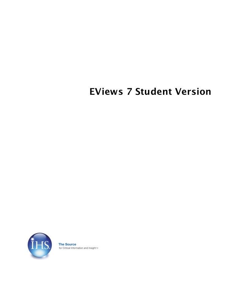 E views 7 student version