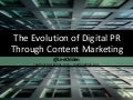 Evolution of Digital Public Relations with Content Marketing