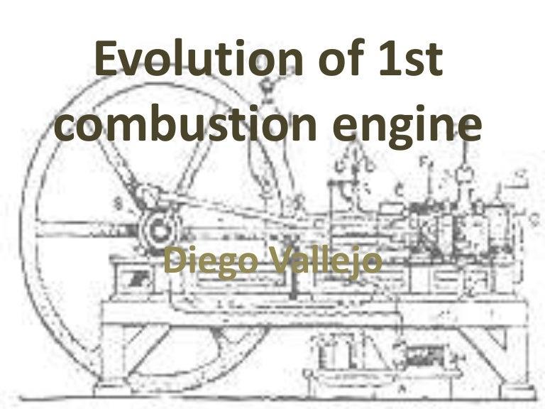evolution of 1st combustion engine rh slideshare net Gasoline Engine Diagram Motorcycle Engine Diagram
