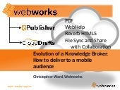 Evolution of a knowledge broker. How to deliver to a mobile audience (MOB12)
