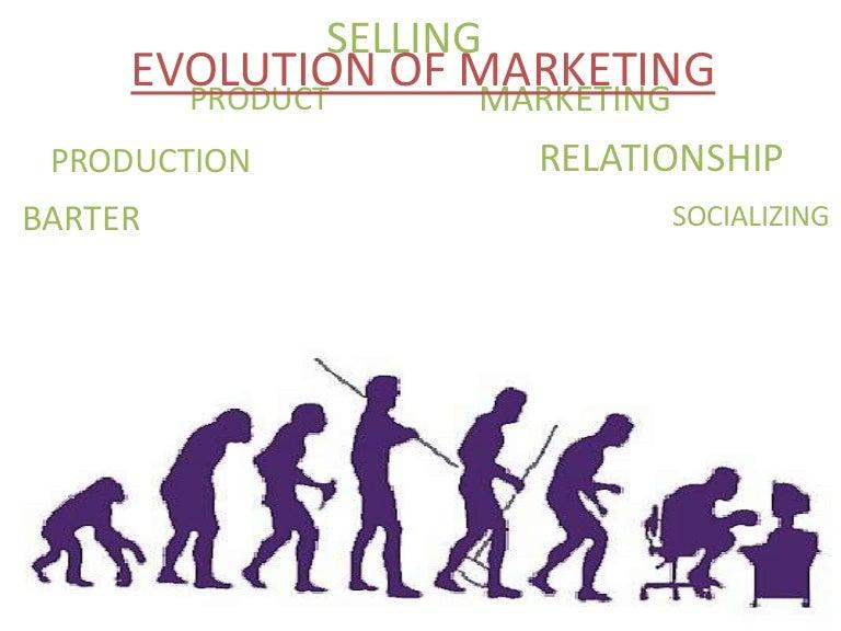 Evolution Of Marketing - One-Slide PPT