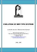 Evolution of mrp type systems