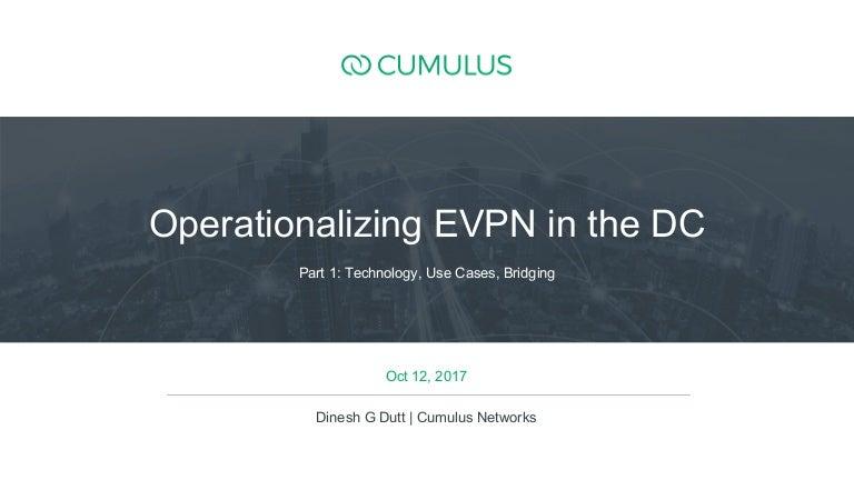 Demystifying EVPN in the data center: Part 1 in 2 episode series
