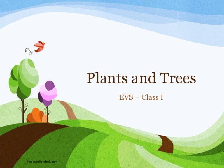 Environmental science evs plants and trees class i toneelgroepblik Choice Image