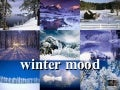 winter mood - beautiful winter with nice music 'In a bleak midwinter' by Sarah Mclachlan