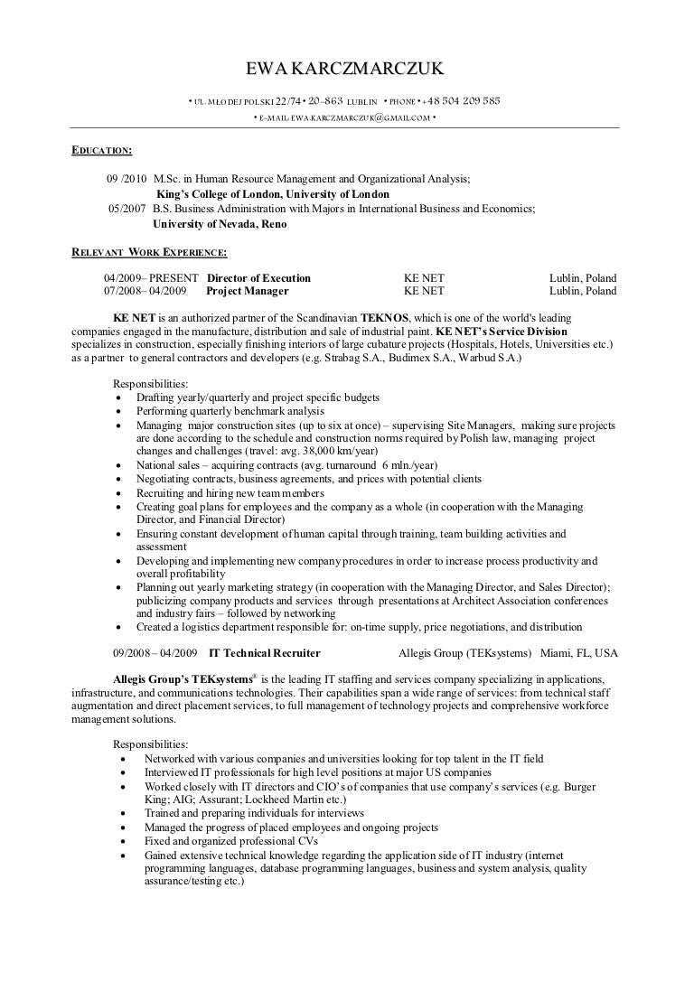 s operations resume related post of s operations resume