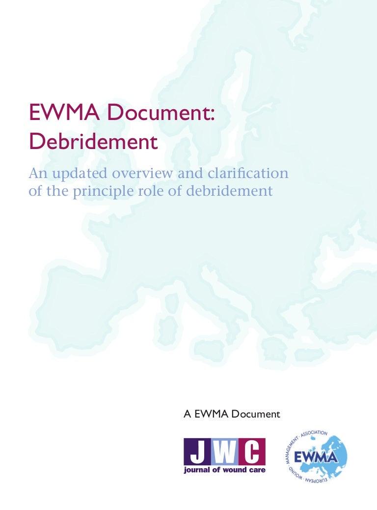 Ewma Debridement Document Jw Cfinal Hoc Store Batik French Cuff
