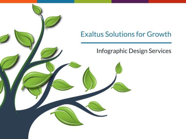 Exaltus infographic design services