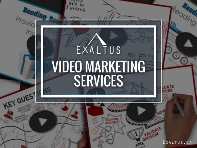Exaltus video marketing services