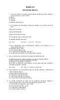Cuestionario De Historia De Mexico