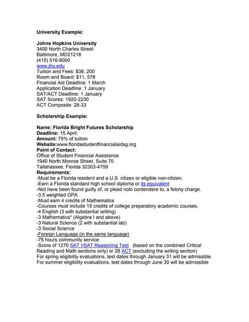 Example of College Portfolio Part 2 2012 13