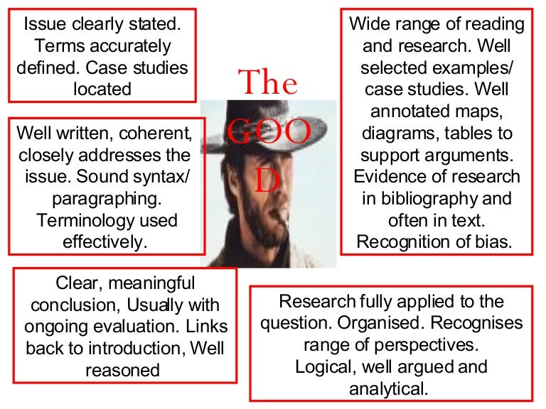 examples of good and bad essays