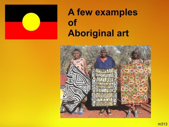 Examples Of Aboriginal Art