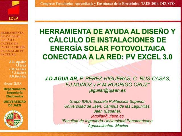 PV Excel Jaén 3.0