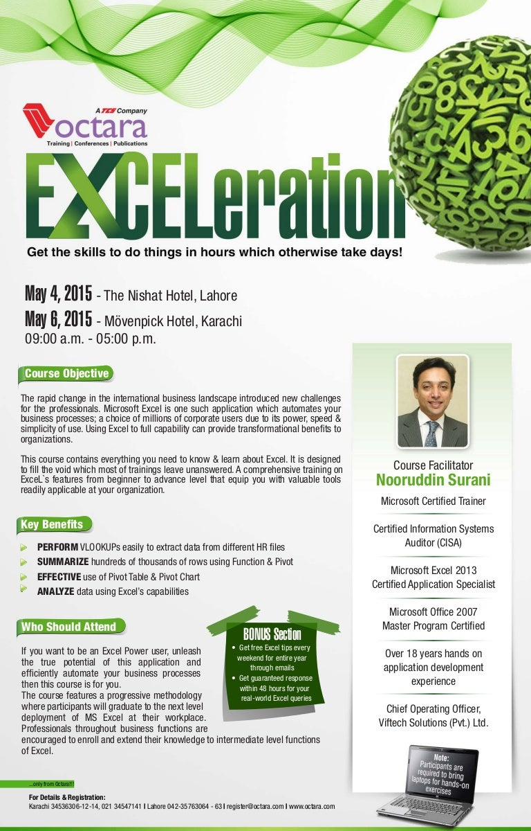 Advanced excel training by octara exceleration 1betcityfo Images