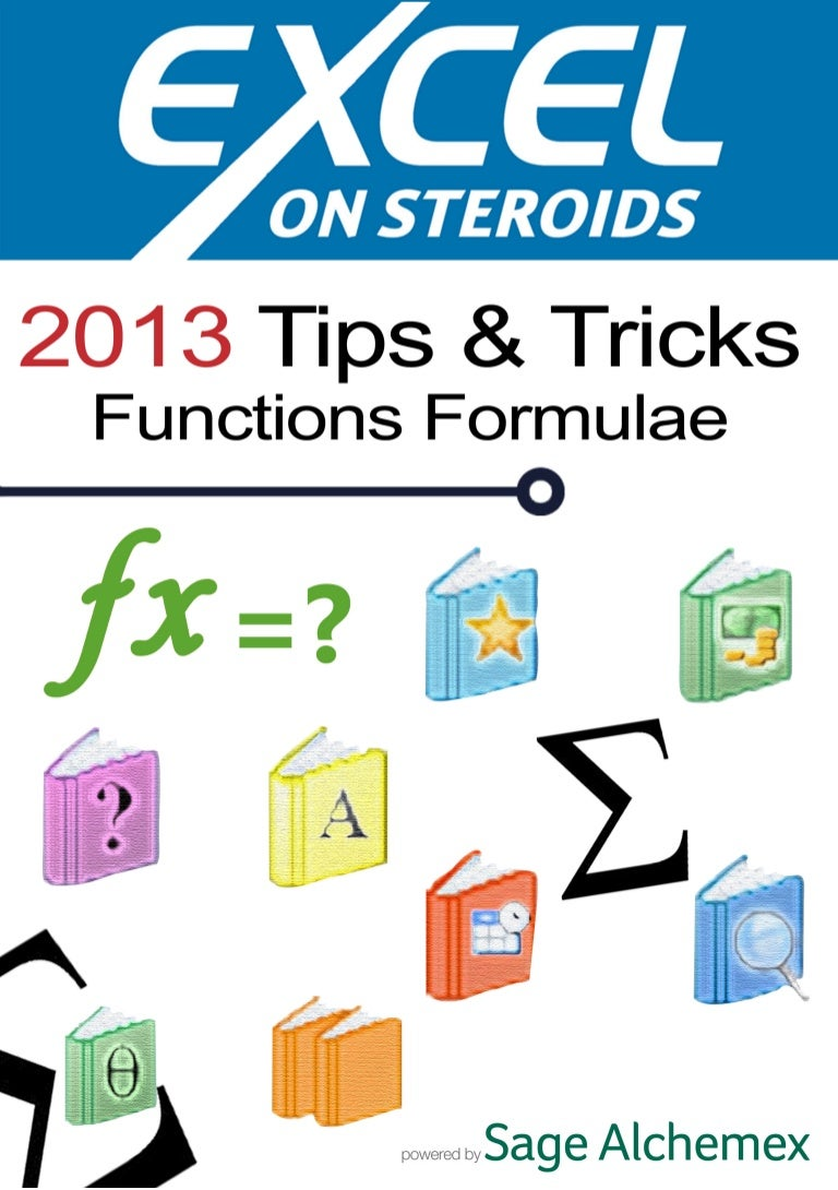 E-Book 25 Tips and Tricks MS Excel Functions & Formulaes
