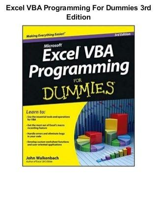 Excel Vba Programming | LinkedIn