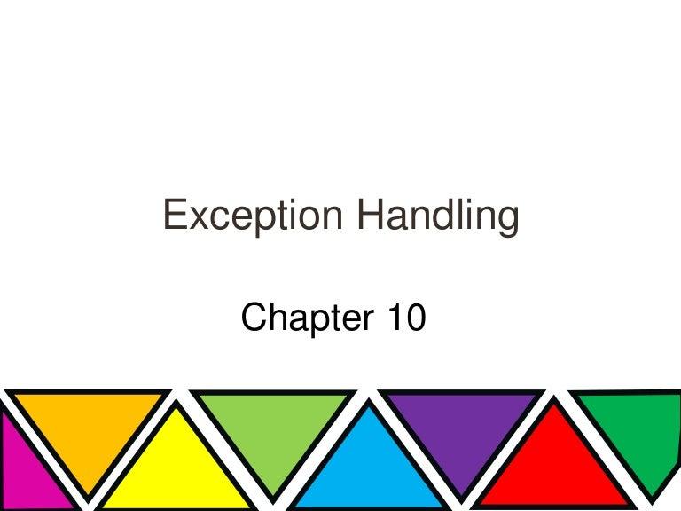 Exception handling in java toneelgroepblik Images