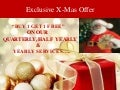 Exclusive x mas offer