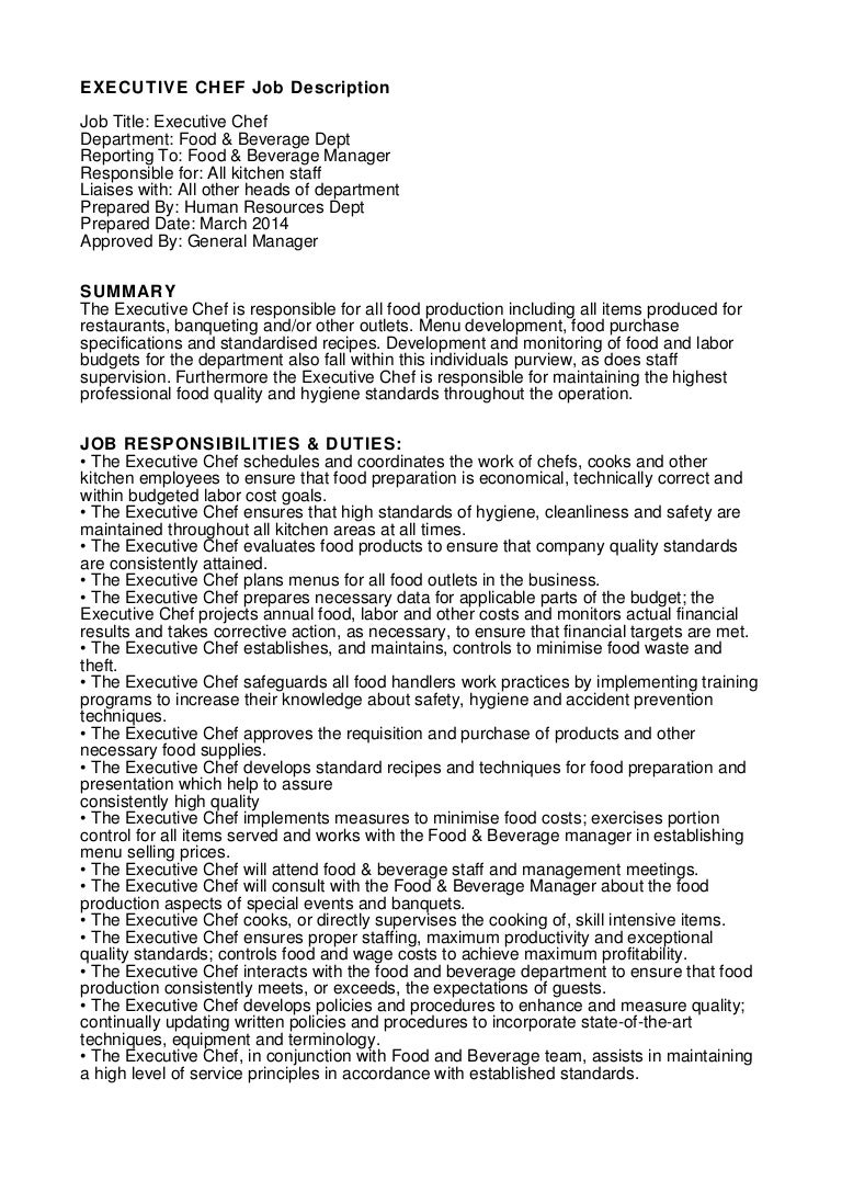 100 Sample Executive Chef Cover Letter Sample Cover Letters