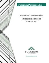 Executive Compensation Restrictions and the CARES Act