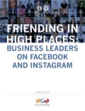 Friending in High Places: Business Leaders On Facebook and Instagram