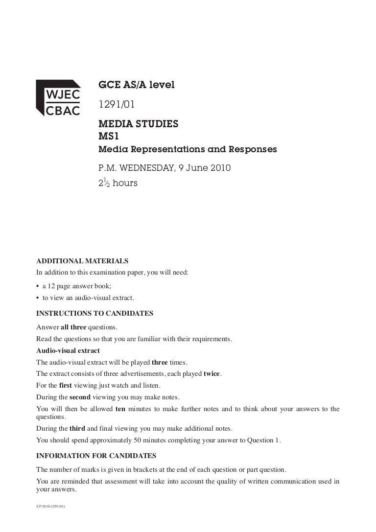 MS1 Exemplar questions