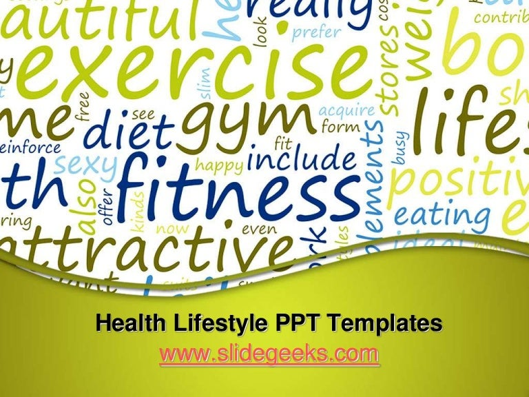 powerpoint templates free download healthy lifestyle gallery, Modern powerpoint