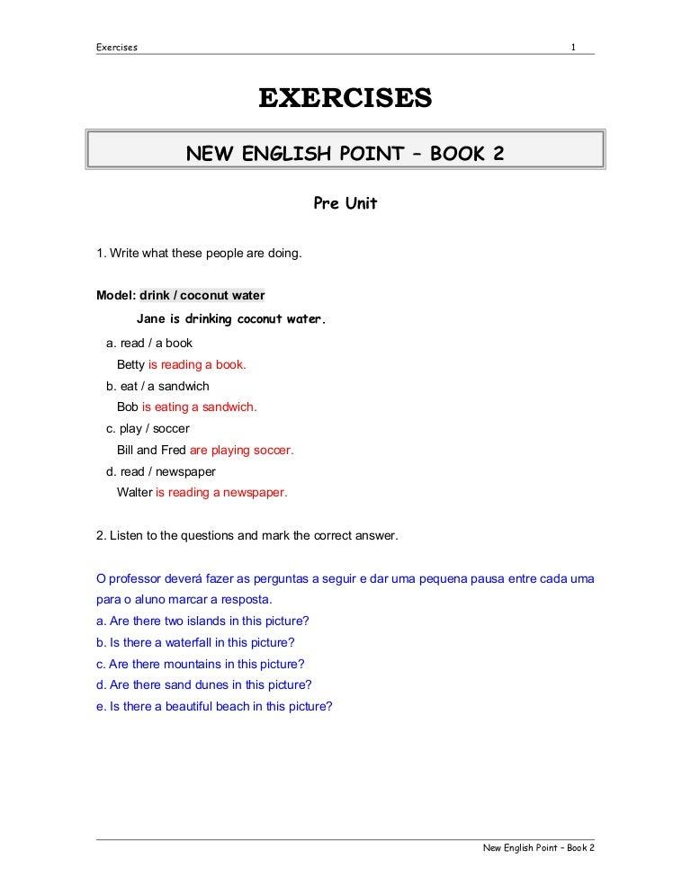 respostas do homework cna