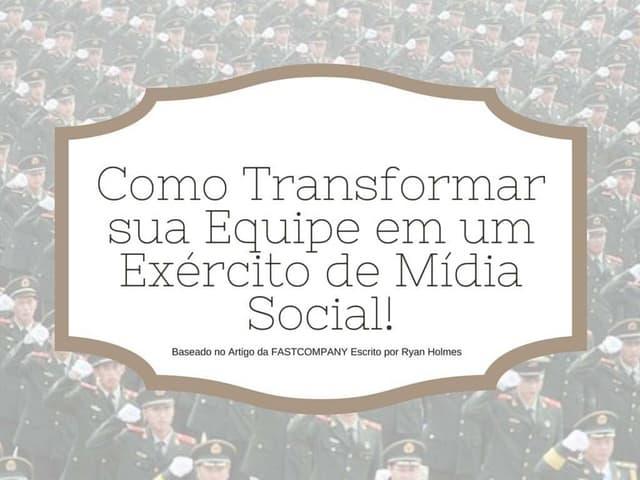 Exercito social