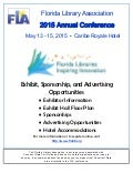 Florida Library Association - 2015 Annual Conference - Exhibit, Sponsorship, and Advertising Opportunities