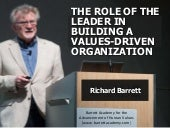 Building a values driven organisation