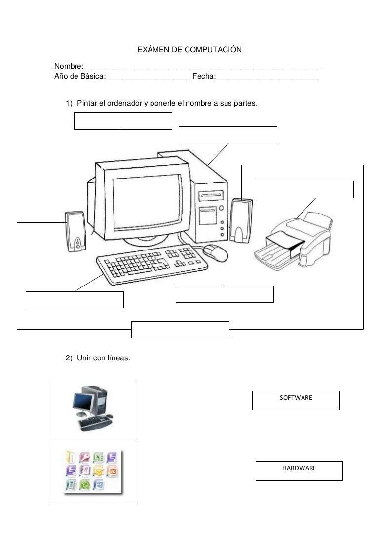Ejercicios De Computacion Para Imprimir Apexwallpapers Com