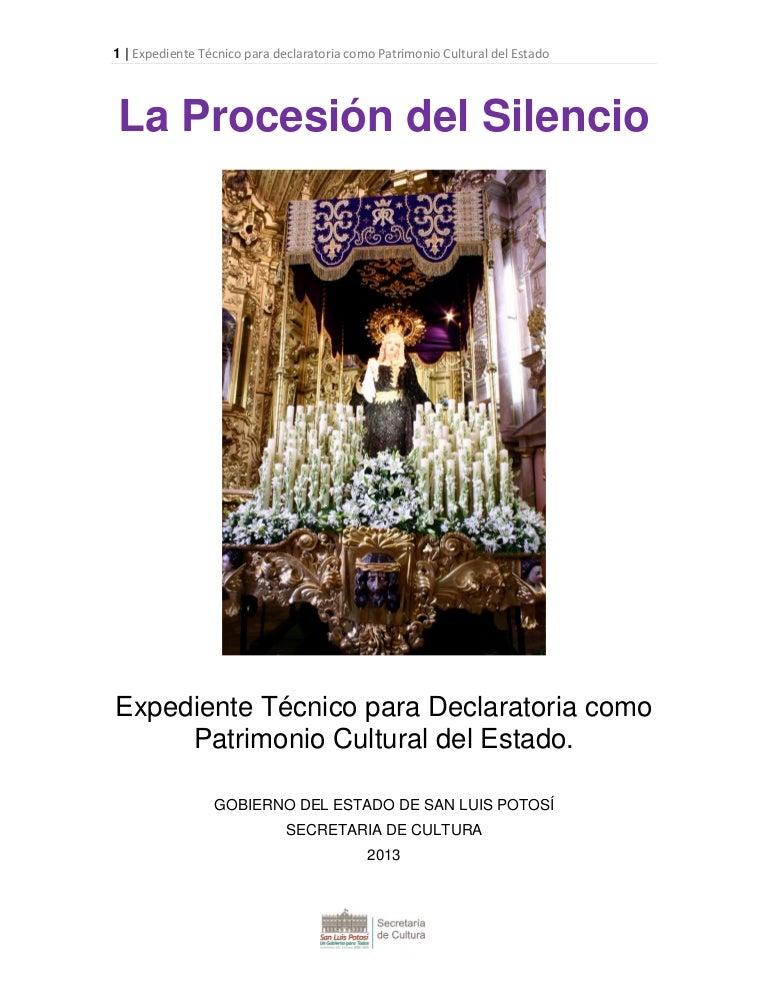 c6651fcc5d47 Procesión del Silencio, patrimonio inmaterial de San Luis Potosí