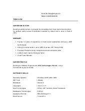 ece fresher resume samples career objective for retail resume ...