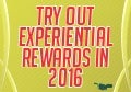 Reward Differently - Get Experiential in 2016
